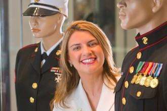 Bianca Strzalkowski is 2011 Military Spouse of Year.