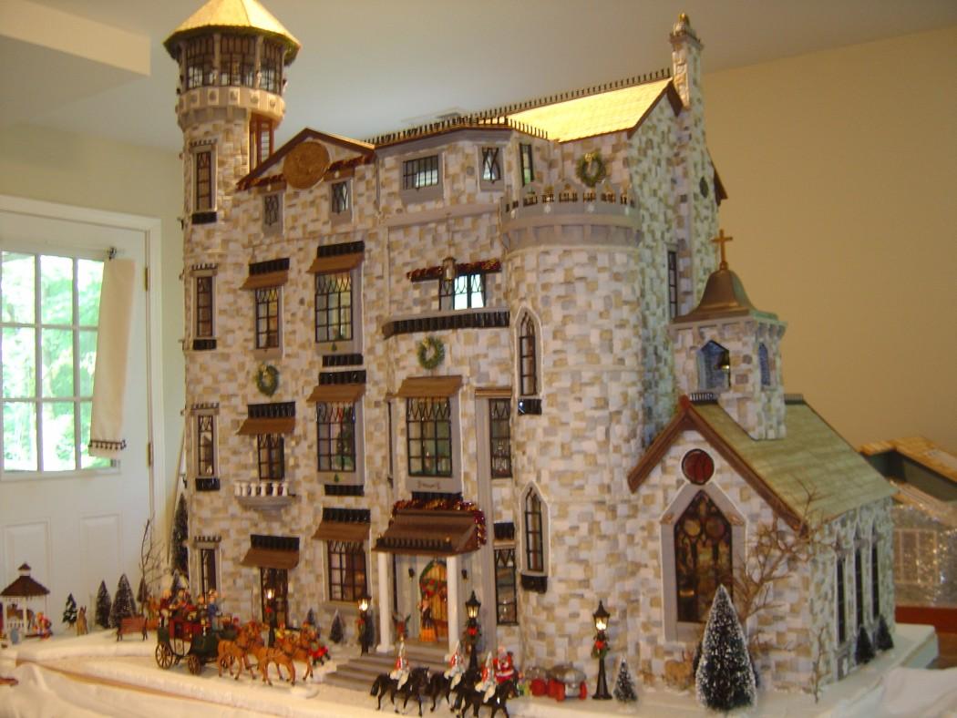 Dollhouse Photography Calendar : A castle for christmas cary magazine