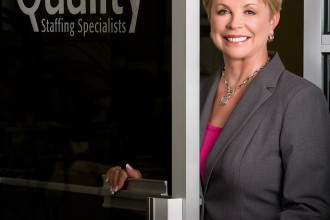 Phyllis Moffet of Quality Staffing Specialists
