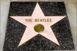 BeatlesWalkOfFameStar