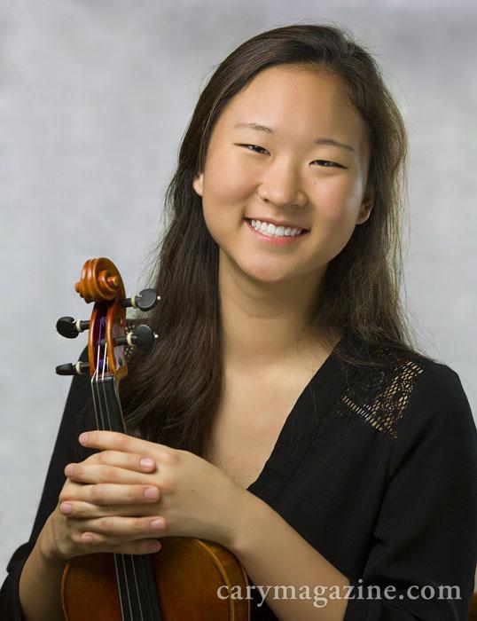 Violinist Deborah Kim