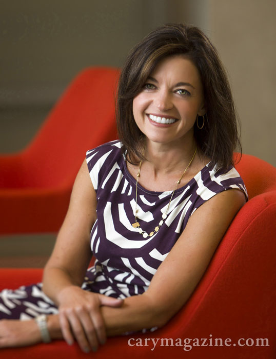 Jenn Mann is Vice President of Human Resources at SAS in Cary, NC