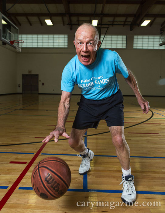 Ken Long, age 86, Senior Games participant