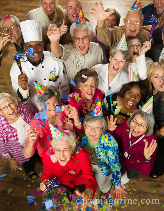 Local retirement home Glenaire was voted best active adult community by Cary Magazine readers in 2012.
