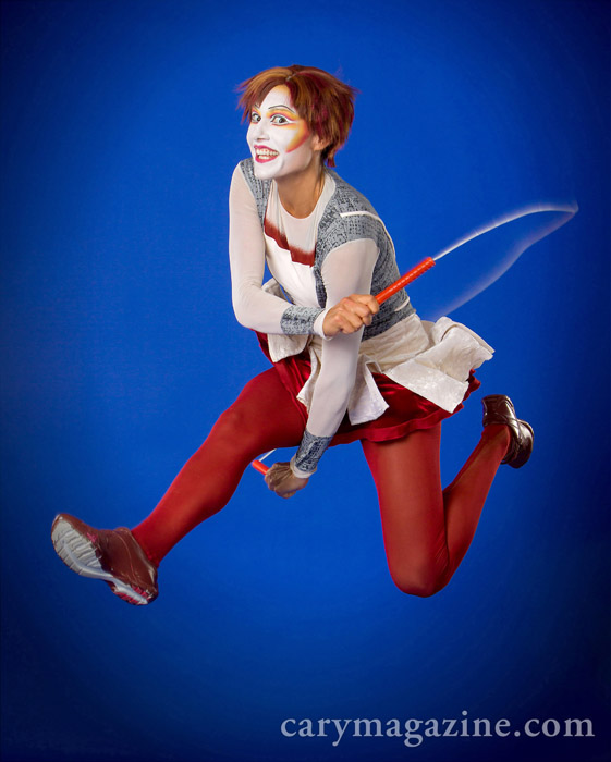 Adrienne Banhegyi is a rope skipping soloist in Quidam, Cirque du Soleil's new show, which will be performed in Raleigh July 10-14, 2013.