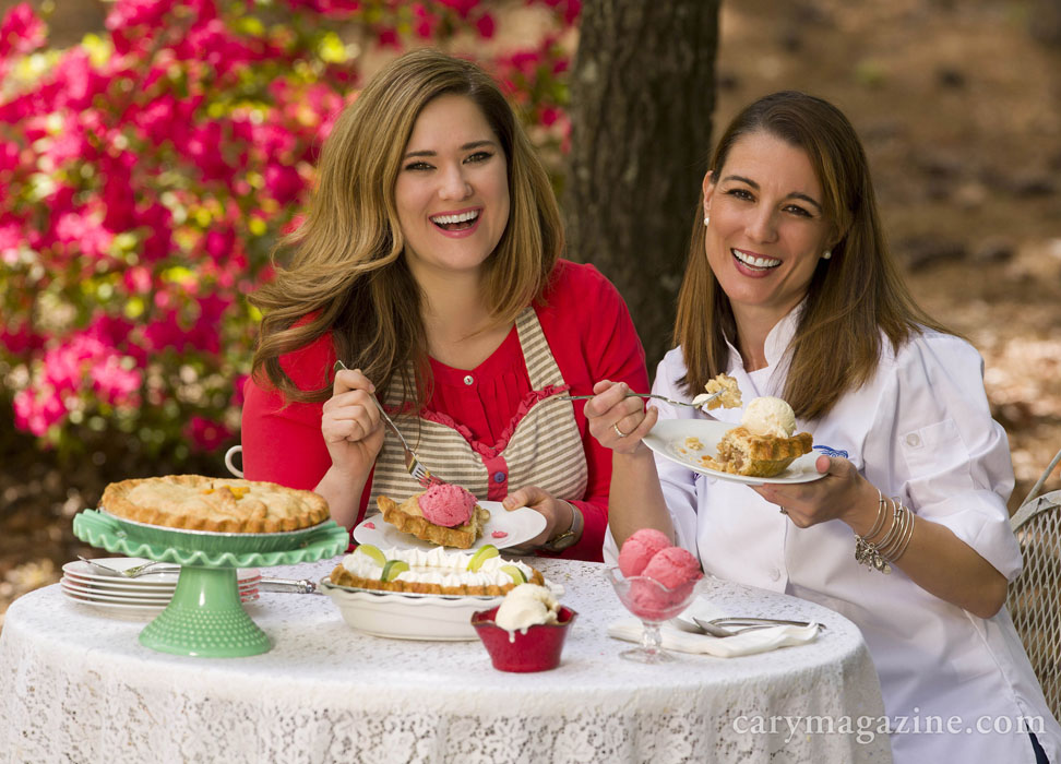 Kristen Cleve, owner of Slice Pie Company, and Andia Xouris, founder of The Freezing Point, serve up memorable pies and ice cream.