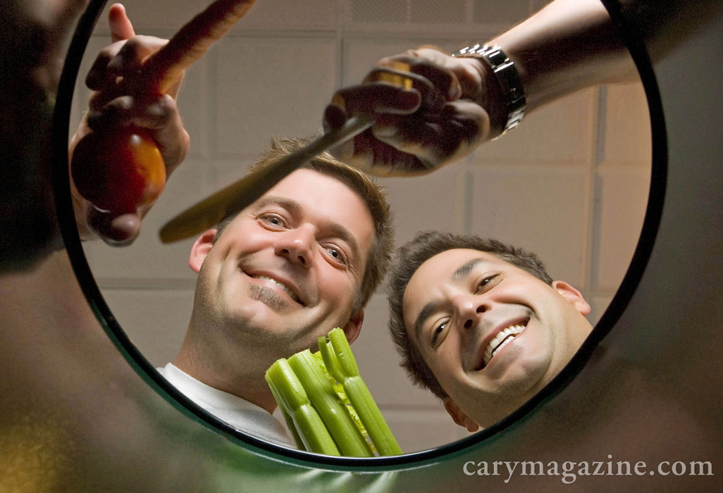 Cookbook authors Jamie and Bobby Deen