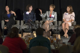 A scene from the 2015 Women of Western Wake Luncheon.