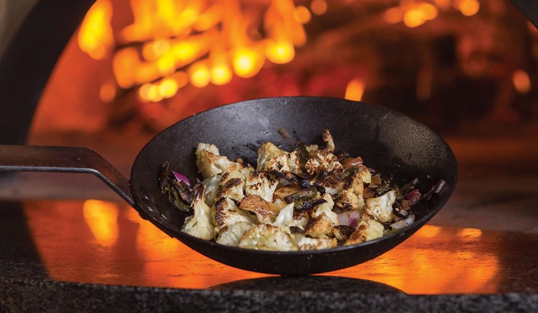 Oven-Roasted Cauliflower from Tazza Kitchen | Cary Magazine