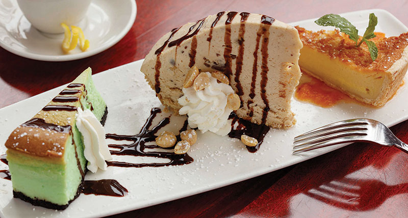 Lucky 32's Peanut Butter Pie