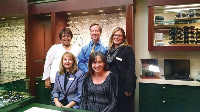 Dr. Ken Rousselo and the staff at Preston Optometry Center.