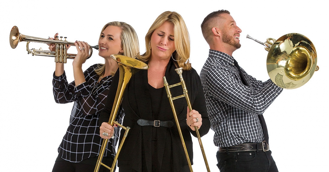 According to our readers, Teri LaRocca of State Farm Insurance is the person to call when things go wrong. Her team leaders Morgan Hedderich, Financial Service Specialist, left, and Justin Wright, Property and Casualty, help LaRocca toot her horn.