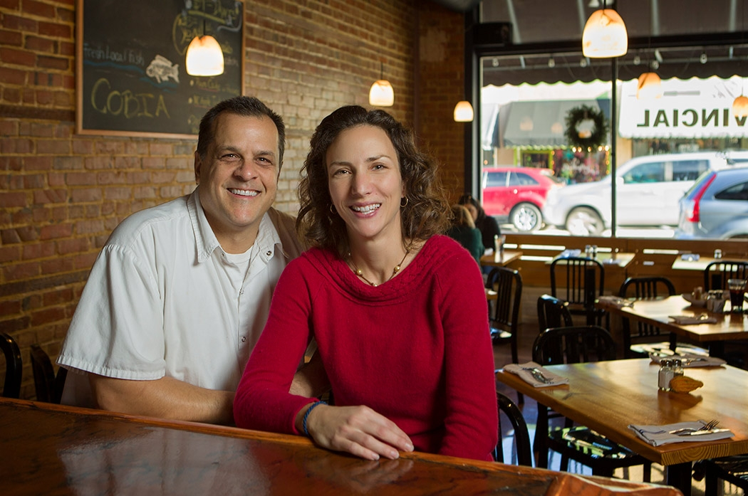 Wayne Alcaide and his wife Kristyna own The Provincial in Apex. The bistro is known for its seafood and straightforward menu.