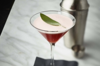 Mix up the Pomegranate Sage Martini, with this recipe.