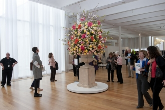 This year's Art in Bloom offers classes, tours, trunk shows and even floral fashions.