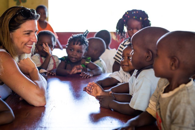 Erin Hempen of Apex, founder of With Change in Mind, is building a kindergarten in Malawi, Africa with the help of volunteers. You can be part of the project - read on. Photo by Taylor Hodges.