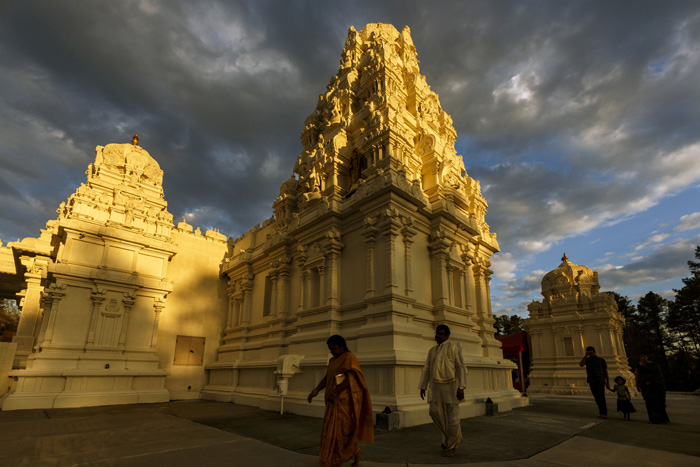 Hinduism, the largest religion in India, is also the faith of many North Carolinians of Indian heritage. Traditions vary, but core beliefs of Hindus include reincarnation, that the soul passes through a cycle of birth and death, and karma, that a person's actions affect his future in this life and the next.