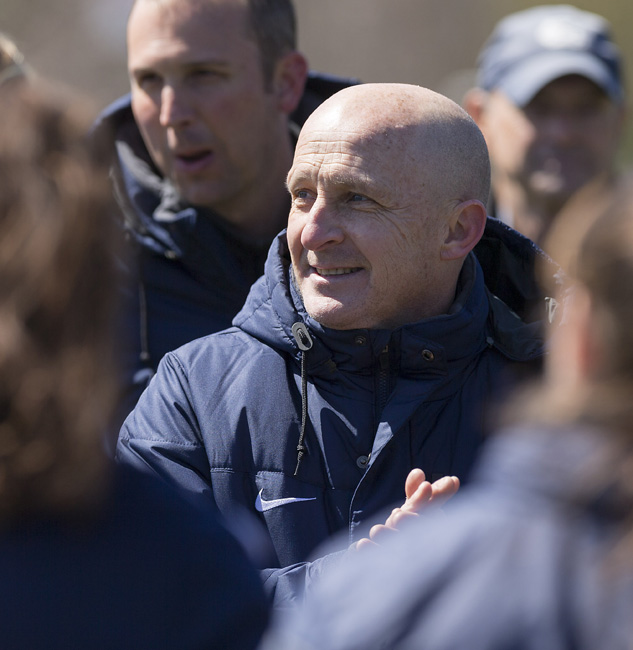 "North Carolina Courage Head Coach Paul Riley led the team to win the 2016 National Women's Soccer League Championship in its incarnation as the Western New York Flash. Most of the players from last year also transitioned to Cary, and Riley says: ""It has made the adjustment easier."""