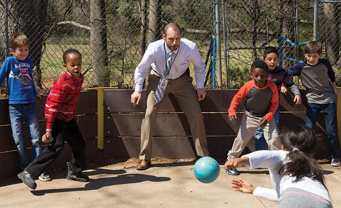 "Cary Elementary School Principal Rod Stanton has now lived in Western Wake for about half of his life, and is beginning to see his early students grow up and become doctors and professors. ""That's where I start to see the contributions compound, how the people I helped can help others,"" he says."