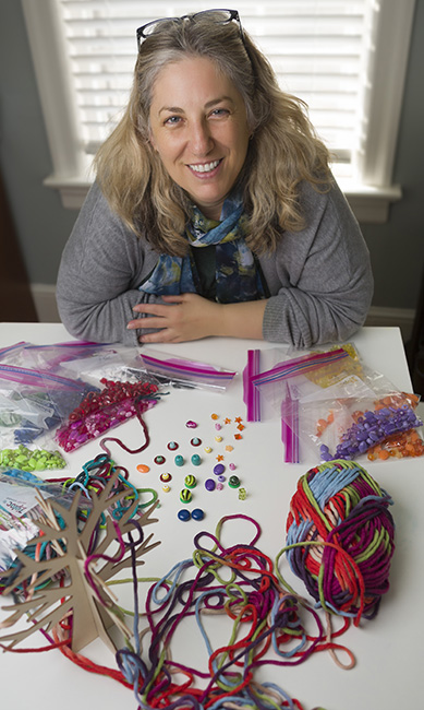 "Art therapist Yael Divon says participation in the arts is effective in helping seniors compensate for the changes in their bodies, and keeps their minds active. ""It's not the results that are important, art-wise, but how you feel, that changes the outcome of your life,"" Divon says."