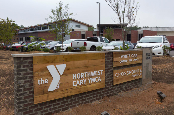 Northwest Cary YMCA. Girl working out: Jasmine Aguinaldo or Cary