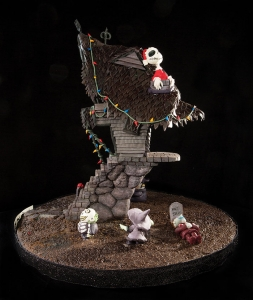 "Meghan Morris of Apex placed in the top 10 with her ""Nightmare Before Christmas"" themed gingerbread entry in 2016, using a ""tricky"" combo of math and physics. ""Before it's beautiful, it must be sturdy,"" she says."