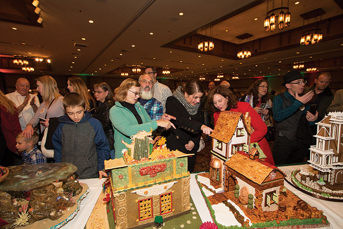 You can view the gingerbread masterpieces — about 150 of them — at Grove Park Inn from Nov. 26 through Jan. 4, even if you're not a guest at the hotel.