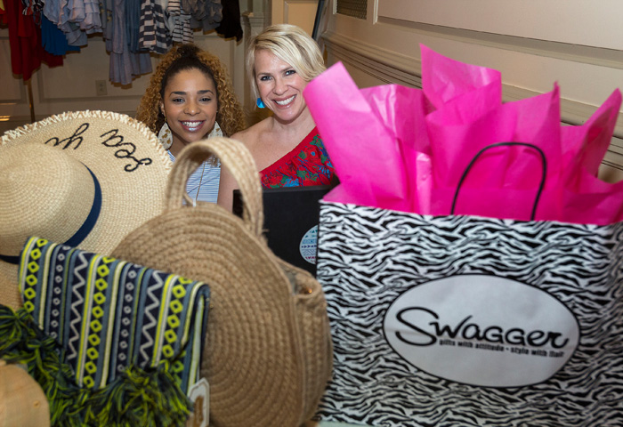 Mandy Becker and Swagger Boutique pop-up shop