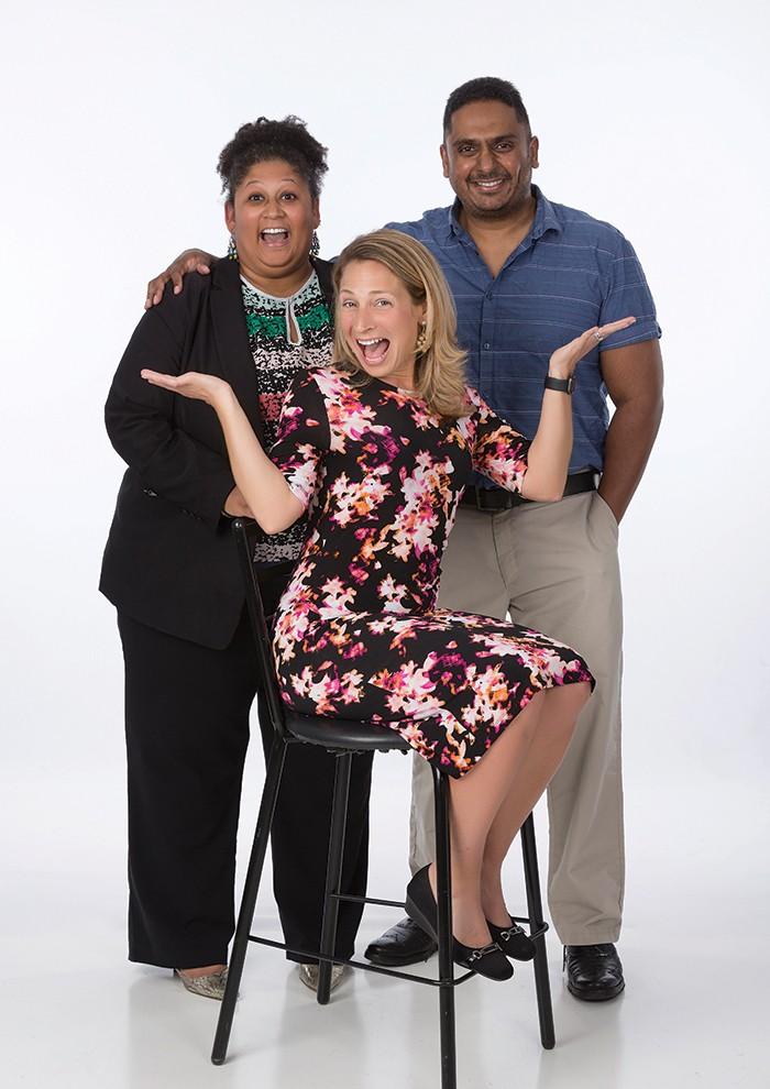 Sunita McCoy, Beth Klatt, Amrish Raj