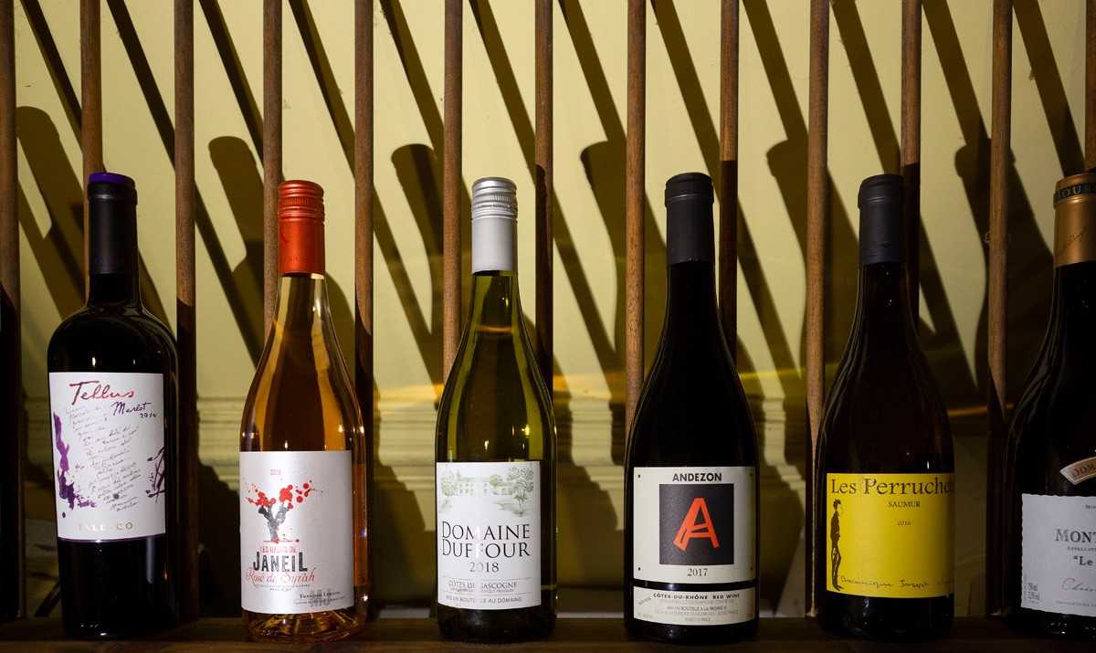 The restaurant is known for its wine selection, winning accolades from patrons and Wine Spectator magazine. On the Square offers retail wine for sale, so diners can try a wine at the restaurant, and take home a bottle for later.