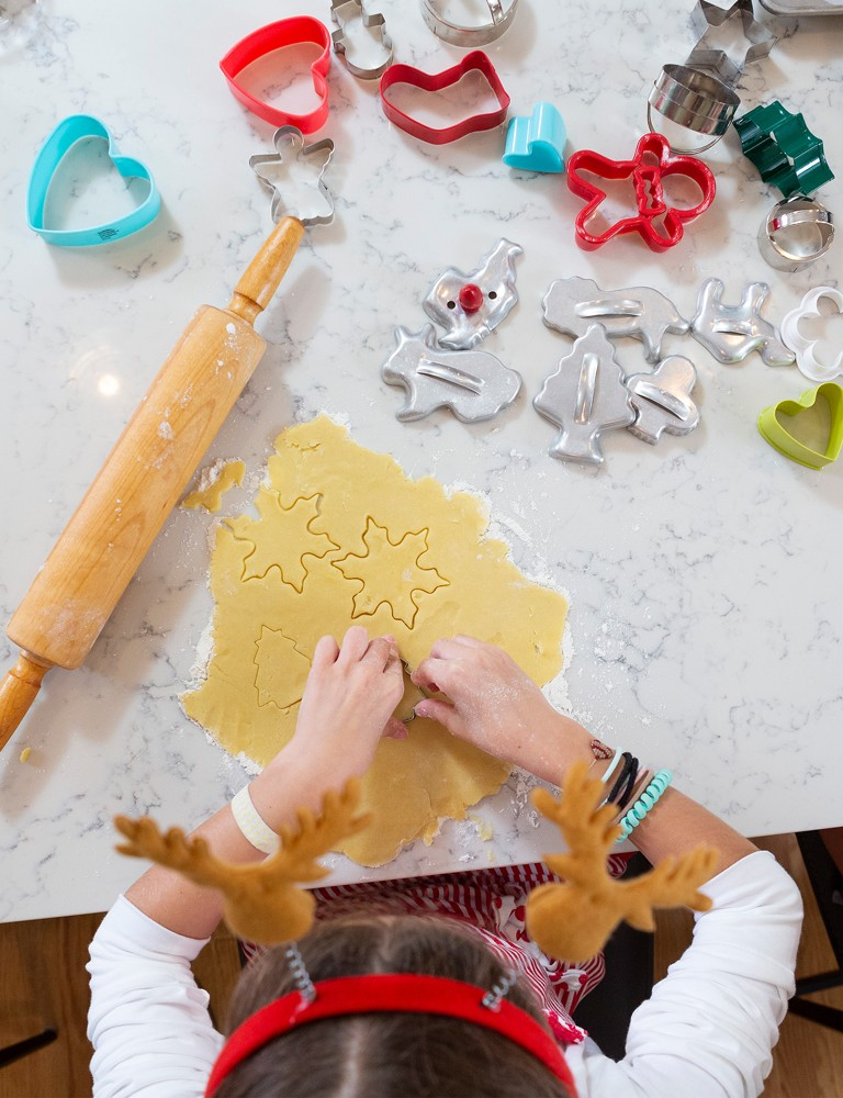 For a successful holiday baking party, experts say assemble lots of cookie cutters, mix up the dough in advance and try not to worry about the mess.