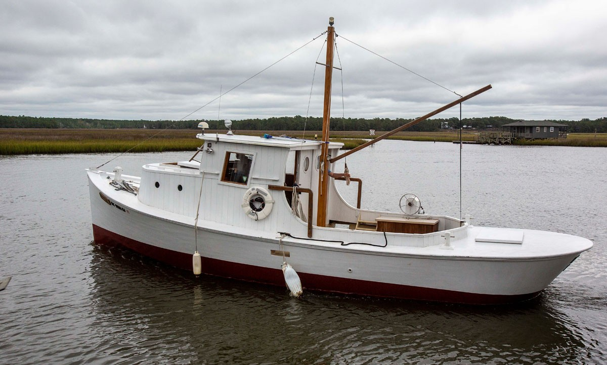 Dean Dosher named his boat after his wife, giving the craft her middle name,