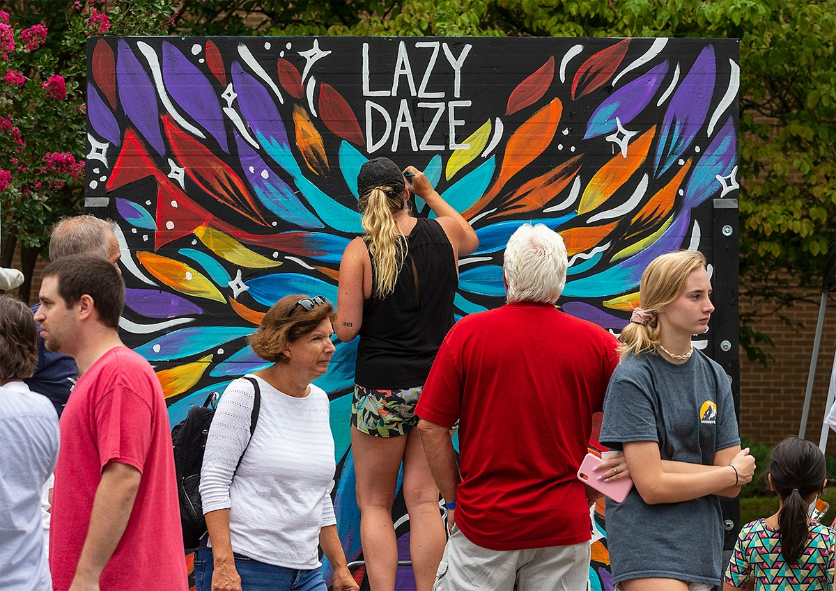Lazy Daze Arts & Crafts Festival, October